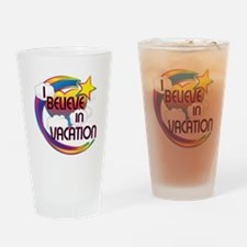 I Believe In Vacation Cute Believer Design Drinkin