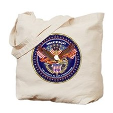 American Patriotic Tote Bag