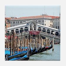 Cute Venice Tile Coaster