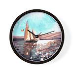Full Sail Wall Clock