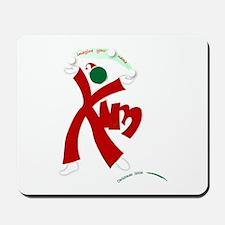 christmas design Mousepad