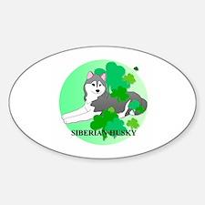 Siberian Husky Decal