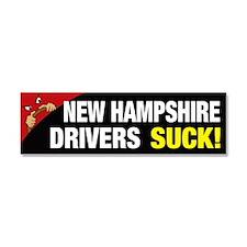 New Hampshire Drivers Suck Car Magnet 10 x 3