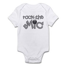 Rock the MIC Infant Bodysuit
