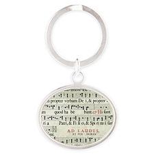 Music Manuscript Keychains