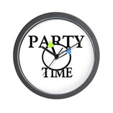 Party Time Wall Clock