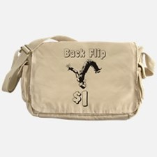 Back Flip Messenger Bag