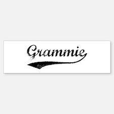 Vintage (Black) Grammie Bumper Bumper Bumper Sticker