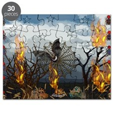 Fantasy Of Bat and Fire Puzzle