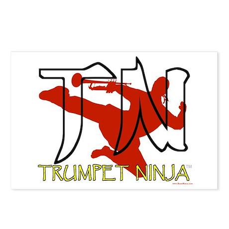 Trumpet Ninja Postcards (Package of 8)