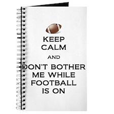 Keep Calm Football Journal
