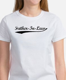 Vintage (Black) Father In Law Tee