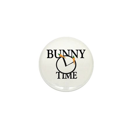 Bunny Time Mini Button