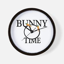 Bunny Time Wall Clock