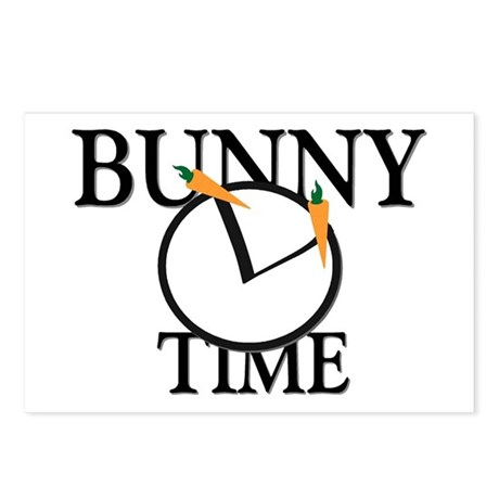 Bunny Time Postcards (Package of 8)