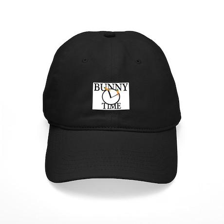 Bunny Time Black Cap