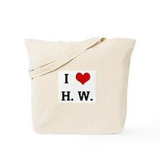 I Love H. W. Tote Bag