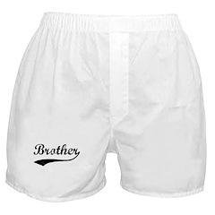 Vintage (Black) Brother Boxer Shorts