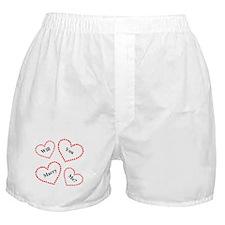Love & Hearts Boxer Shorts
