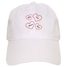 Love & Hearts Baseball Cap