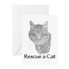 Rescue a Cat Greeting Cards (Pk of 10)