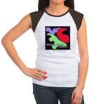 Fine Art Women's Cap Sleeve T-Shirt