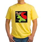 Fine Art Yellow T-Shirt