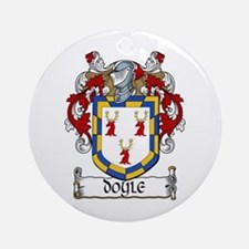 Doyle Coat of Arms Ornament (Round)