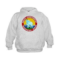 Great-Northwest Brand Hoodie