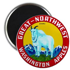 "Great-Northwest Brand 2.25"" Magnet (100 pack)"