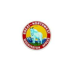 Great-Northwest Brand Mini Button (10 pack)