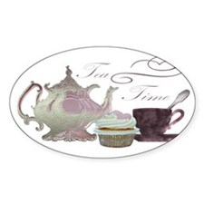 Time for Tea Art Decal