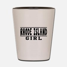 Rhode Island Girl Designs Shot Glass
