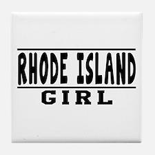 Rhode Island Girl Designs Tile Coaster