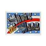 We Will Win Victory Rectangle Magnet (10 pack)