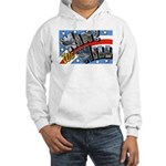 We Will Win Victory (Front) Hooded Sweatshirt