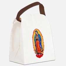 14x10_virgin_of_guadalupe.png Canvas Lunch Bag
