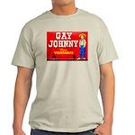 Gay Johnny Brand Ash Grey T-Shirt