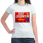 Gay Johnny Brand Jr. Ringer T-Shirt