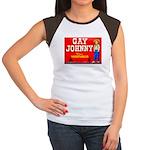 Gay Johnny Brand Women's Cap Sleeve T-Shirt