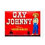 Gay Johnny Brand Postcards (Package of 8)