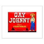 Gay Johnny Brand Small Poster