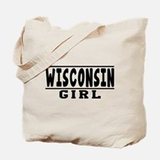 Wisconsin Girl Designs Tote Bag