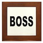 Boss Framed Tile