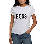 Boss (Front) Women's T-Shirt