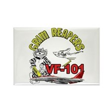 VF-101 Grim Reapers Rectangle Magnet