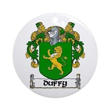 Duffy Coat of Arms Ornament (Round)