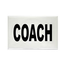 Coach Rectangle Magnet