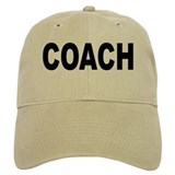 Baseball coach Hats & Caps