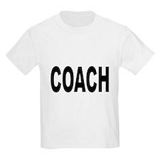 Coach (Front) Kids T-Shirt